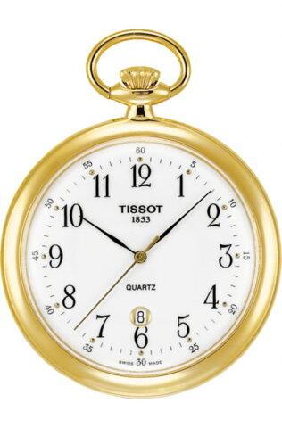TISSOT ティソ 懐中時計 ポケットウォッチ レピーヌ TISSOT LEPINE T82.4.550.12 【クォーツ】 分割払いもOKです