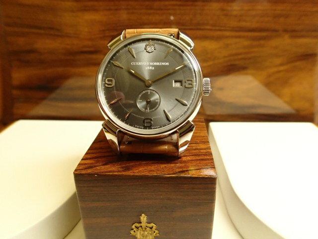クエルボイソブリノス 腕時計 トルピード ヒストリアドール ペキニョス セゴンドス ヴィンテージ 正規商品 Ref.3191-1VGS 【クエルボ・イ・ソブリノス】 無金利分割も可能です。