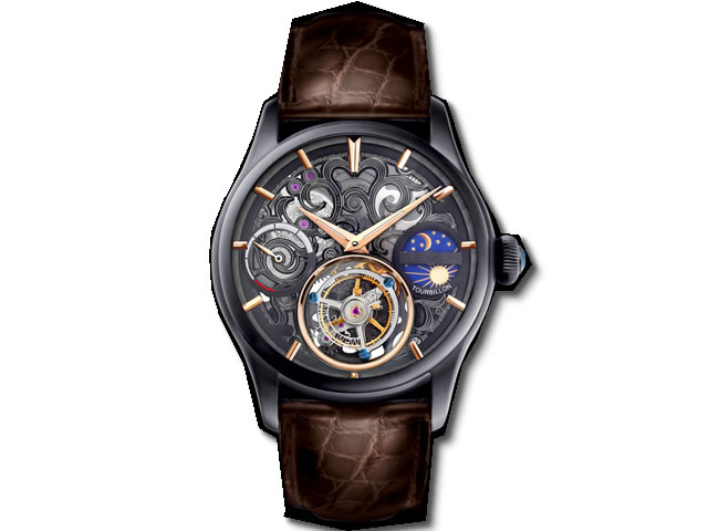 腕時計, メンズ腕時計  MEMORIGIN Navigator MO1006BKBKBRB