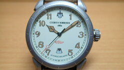 クエルボイソブリノス腕時計DomingoRosilloヴェロドミンゴロシ−ヨ正規商品Ref.3205.1C【クエルボ・イ・ソブリノス】無金利分割も可能です。