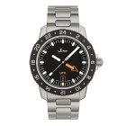 ジン腕時計Sinn105.ST.SA.UTC.Mメタルブレスレット仕様24時間式第二時間帯表示を備えたスポーティーウォッチ分割払いもOKです