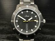 ジン腕時計Sinn105.ST.SA.Mメタルブレスレット仕様多機能回転ベゼルを備えたスポーティーウォッチ分割払いもOKです