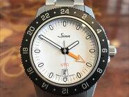 【あす楽】ジン腕時計Sinn105.ST.SA.UTC.Wメタルブレスレット仕様24時間式第二時間帯表示を備えたスポーティーウォッチお手続き簡単な分割払いも承ります。月づきのお支払い途中で一括返済することも出来ます。
