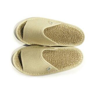 無合成化學溶劑sasa日本紙拖鞋、M尺寸(前空間類型·淺駝色)