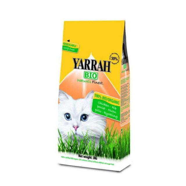 放し飼いで育てた鶏を使用YARRAH キャットフードチキン 800g