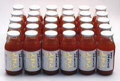 トマトジュース北海道・お得な箱売り価格(無農薬・無添加・無化成肥料)北海道幸せの完熟トマトジュース無塩160ml×30本