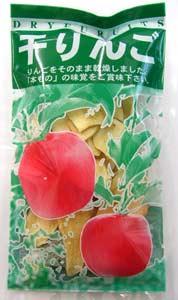 無農薬栽培されたリンゴを約1個半使って無添加でそのまま干したジンさんの干しりんご25g×30袋(箱売り)