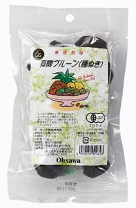 輻射證明有機食品 (有機和無添加劑) 李子幹 (沒有種子) 140 克