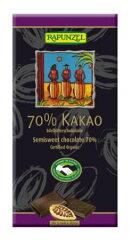 カカオ70%ビターチョコレート80g(IMO(スイスのオーガニック認証機関)認定)