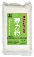 面粉●国内生产有机面粉、面筋含量低的小麦粉(绿)500g
