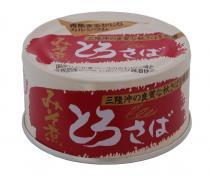 Toro 的國內生產和無添加劑的藍色的魚罐頭千葉新鮮鯖魚和味噌醬 180 克