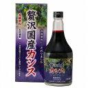 北海道産カシスを100%使用した贅沢国産カシス 565ml
