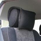 Wラッセル・楽転家/Carらくてんかカー用品 ヘッドレスト枕ですカークッションとセットでお使いになれば、効果てきめんです 【楽ギフ_包装】