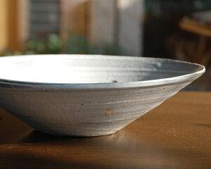 和食器 刷毛目楕円鉢 作家「吉岡萬理」