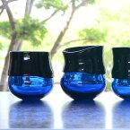 ガラス DOMAKI ブルーカップ'(丸) 作家「飯田将平」