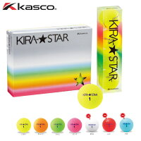 キャスコKIRA★STAR(キラスター)ゴルフボール1ダース12球入Kasco1ダース(12個)