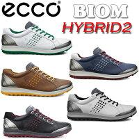 日本正規品2015年ECCO(エコー)BIOMGOLFHYBRID2バイオムハイブリット2スパイクレスゴルフシューズ151514【P08Apr16】