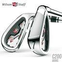 ウィルソン スタッフ C200 アイアンセット 6本組 #5-PW アイアン セット 6本セット 【WILSON】【WILSON Staff】