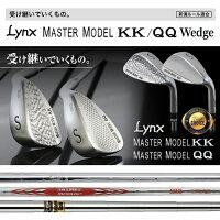 LynxリンクスゴルフMasterModelKKQQウェッジスチールシャフト【ウェッヂ】【LYNX】