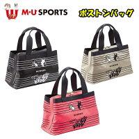日本正規品MUSPORTSMUスポーツ703V3900レディースゴルフハーフセットクラブ8本+ミュージック柄キャディバッグ&ボストンバック付