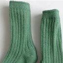 リブ ソックス 靴下 5足 セット おしゃれ 可愛い 男の子 女の子 yuyumo 韓国靴下 3