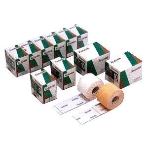 粘着性伸縮ガーゼ包帯 シルキーポア ベージュ 10号 幅10.0cm×実長10.0m 3巻 11934 アルケア