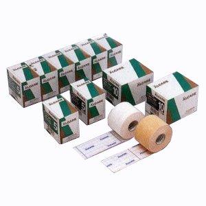 粘着性伸縮ガーゼ包帯 シルキーポア ホワイト 1号 幅1.25cm×実長10.0m 24巻 11921 アルケア