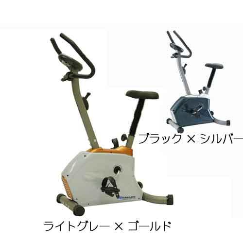 【送料無料】 フィットネス器具 マグネットバイク フレーム/グレー、本体カバー/ブラック×シルバー L800×W530×H1240mm 25.8kg FB-170HP フジモリ