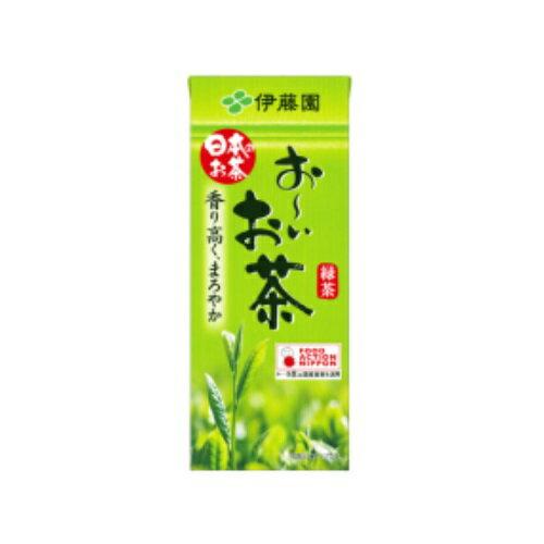 まとめ買い3ケースセット おーいお茶 緑茶 紙パック 250ml×1ケース(24本入) 伊藤園