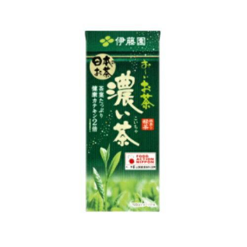 まとめ買い3ケースセット おーいお茶 濃い茶 紙パック 250ml×1ケース(24本入) 伊藤園