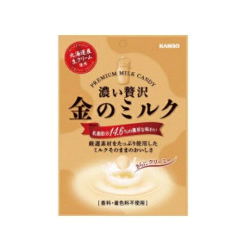 まとめ買い12袋セット ☆金のミルク キャンディ 1袋(80g、約19粒入) カンロ