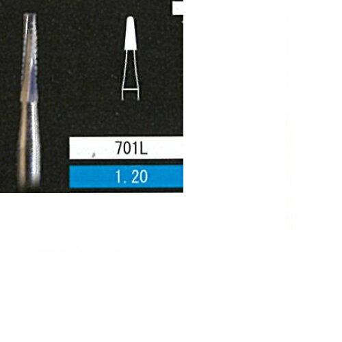衛生日用品・衛生医療品, その他  Long Cross Cut Tapered Fissure No.701L 1.20 10