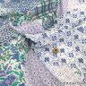 【店内全品ポイント5倍】○インドボイルプリント生地(ハンドスクリーン・手捺染)/VOI-9-A[生地/布/インテリア/洋服]