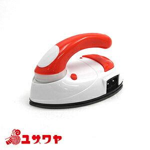 ミニアイロン 赤/DMA-04RD[小型/手芸/旅行/便利用品/レクリエ]
