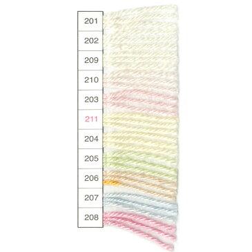 秋冬毛糸 『milkyabyandy(ミルキーベビーキャンディ) 209番色』 Olympus オリムパス オリムパス