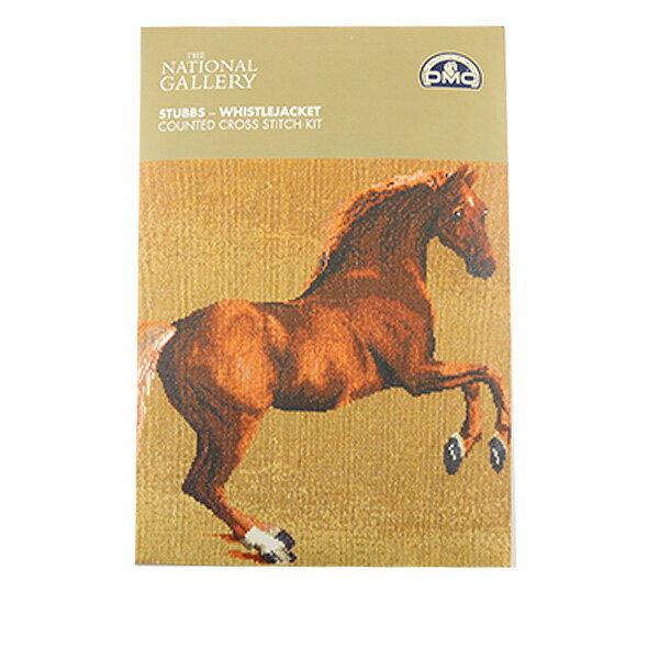 DMC 刺繍キット ジョージスタッブス BL1115/71 [刺しゅう クロスステッチ 馬 ホース 名画 ホイッスルジャケ