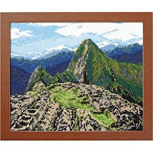 クロスステッチ刺繍キット オリムパス 一度は訪れたい世界の名所 マチュピチュ遺跡(ペルー)/7438 [刺しゅ