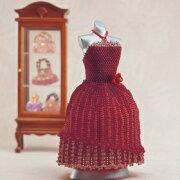 フラワー バッスルスタイルドレス ウエディング