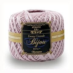 ■オリムパス レース糸 エミーグランデ ビジュー[編み物/手編み/レース編み]