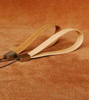 革製携帯ストラップ(ヌメ革)