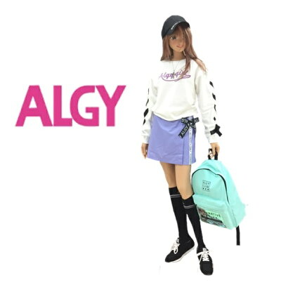 子供服ALGYアルジースニーカーシューズ2020春物小学生女児女の子ガールズ配色テープスニーカー