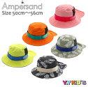 【送料無料】AMPERSANDアンパサンドハット帽子2021夏物サイズ(50cm/52cm/54cm/56cm)アウトドアハットメール便可