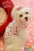 可愛いハートプリント 綿素材タンクトップ♪小型犬用♪【セール】【トイプードル】【パピヨン】【チワワ】【ヨーキー】【春夏新作】【犬ウェア】【犬 服】【可愛い】