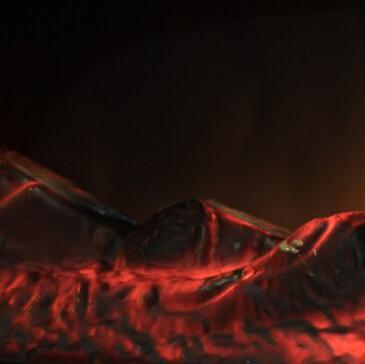 スリーアップ Nostalgie ノスタルジア アンティーク調 暖炉型ヒーター CHT-1540WH ホワイト 【送料無料(沖縄県を除く)】