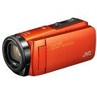 JVCEverioR防水/防塵/耐衝撃/耐低温/Wi-Fi対応64GBハイビジョンメモリームービーGZ-RX680-Dブラッドオレンジ