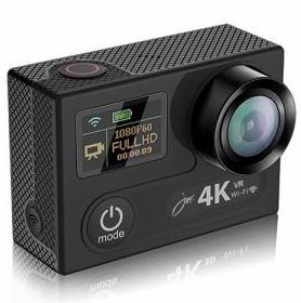 カメラ・ビデオカメラ・光学機器, ウェアラブルカメラ・アクションカム JOYEUX 4K-WiFi1080P SUPER PRO SVC600BK