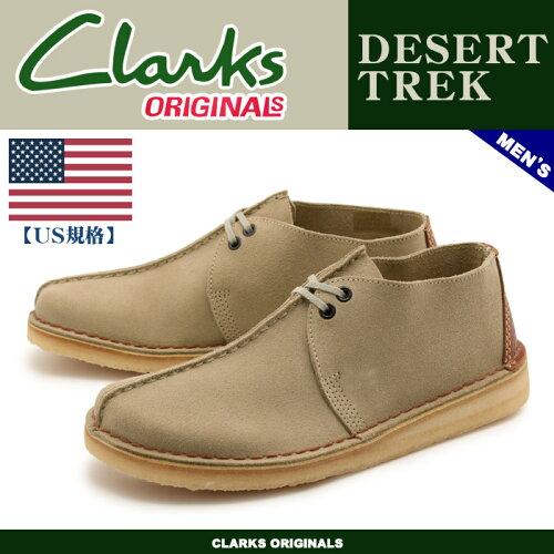 送料無料 クラークス CLARKS デザートトレック サンド(CLARKS 26036448 DESERT TREK CORE SAND) く...