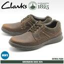 送料無料 クラークス CLARKS カジュアルシューズ COTRELL PLAIN ブラウン オイリーレザー(26119805)靴 スニーカー 天然皮革メンズ(男性用)