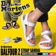 [ランク別エントリー最大10倍 5/30-9:59まで] 送料無料 ドクターマーチン Dr.Martens バルフォア ゼット ストラップ サンダル ブラック 他全2色DR.MARTENS BALFOUR Z STRAP SANDAL R22431001 R22431100レザー 本革 靴メンズ(男性用)兼レディース(女性用)