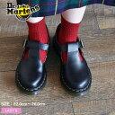 ドクターマーチン メリージェーン ポリー Tバー シューズ レディース DR.MARTENS POLLEY T BAR SHOE MARY JANE 14852001 黒 靴 レザー ストラップ Tストラップ マーチン ポーリー 復刻 売れ筋 おしゃれ かわいい 1